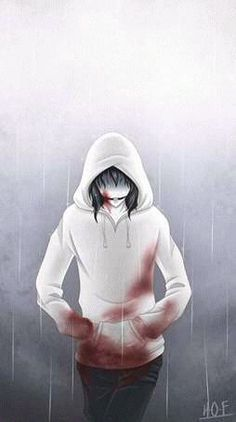 This is the first GIF of my drawings, I'm so happy. In fact, I did it because I couldn't choose between these two drawings: Jeff the killer -Rainy Day (GIF) Jeff The Killer, Familia Creepy Pasta, Creepy Pasta Family, The Killers, Ben Drowned, Fnaf, Creepypasta Wallpaper, Marshmello Wallpapers, All Hope Is Gone