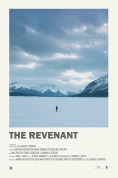 Andrew Sebastian Kwan - Andrew Sebastian Kwan The Revenant alternative movie poster - Iconic Movie Posters, Minimal Movie Posters, Minimal Poster, Cinema Posters, Movie Poster Art, Iconic Movies, Movie Prints, Poster Prints, Poster Wall
