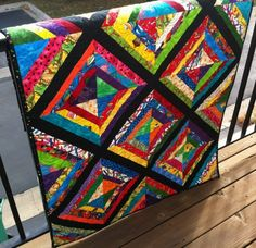 Mary heads up an organization called HeartStrings Quilt Project, which makes quilts for children in hospitals and other needs.  Mary quilts many of these and distributes them.