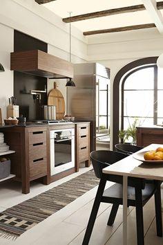 bonito diseño de cocina elegante
