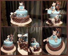 Noukies Christening cake
