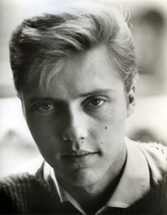 young Christopher Walken ~ Scarlett Johansson looks a lot like him.