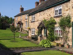 Paradise Square Cottages at Wentworth in South Yorkshire