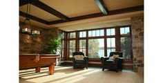 Craftsman Bungalow Living Room Example