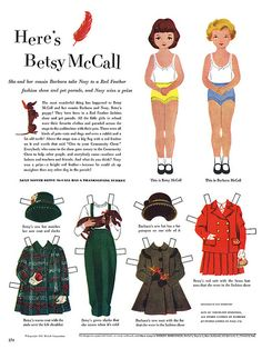 Here's Betsy McCall
