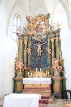 Giovanni Giuliani - oltář Thallern, před 1728