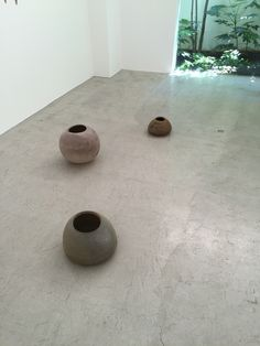 Watanabe Takayuki ceramics exhibition at Center for COSMIC WONDER in Aoyama, 5/21 ~ 5/29