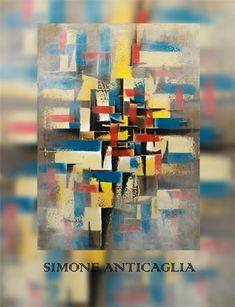 La Rassegna d'arte 2018 di Art Open Space si apre con la personale di Simone Anticaglia, artista umbro, classe 1973, le cui sue tele sono un'affascinante alchimia di forme, luci e colori.