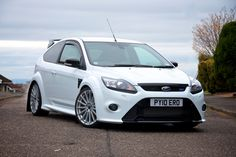 ford focus rs white - Google Search