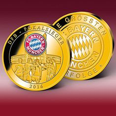 """FC Bayern Fanprägung """"DFB-Pokalsieger 2016"""", limitiert au... https://www.amazon.de/dp/B01N2R11I0/ref=cm_sw_r_pi_dp_x_o9WrybHHEGZGX"""