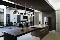 interior arquitectura casa agr interiores adi cocinas diseno cocina casas diseno modernas disenos con galeria modern imagenes park por liki