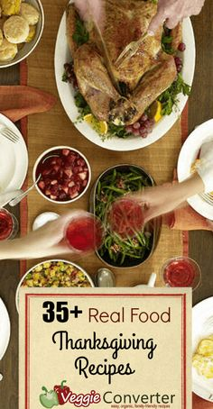 35 real food thanksgiving recipes