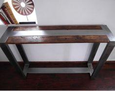 Industriële salontafel rustiek handgemaakte door DesignInFocus
