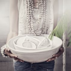 temple flower ceramics : soon in le shop | designer & model : sara n bergman | © hannah lemholt photography / love warriors