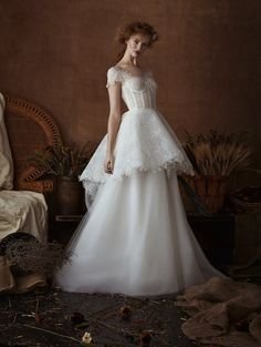 Look #1 ~ Connie @isabellearmstrong #weddings #weddinggown #weddingdress #weddingstyle #weddingfashion #fashion #style #bride #bridal #bridalgown #bridaldress #bridetobe #ConnieGown #lace #ballgown
