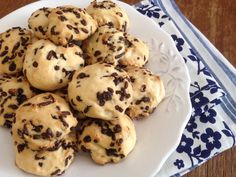 Biscuit Bar, Biscuit Cookies, Yummy Cookies, Cake Cookies, Sweets Recipes, Cookie Recipes, Greek Desserts, Cookie Tutorials, Sweets Cake