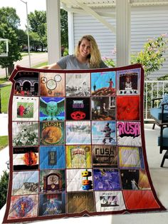Rush Albums Best Imagine Posters Of Series Albums Of Rush Band Pretty Gift For Rush Band Lover Quilt Rush Albums, Rush Band, Silky Touch, Dust Mites, Blanket Sizes, Decorative Throws, Gallery Wall, Quilts, Stitches