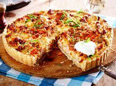 Bildergebnis für herzhafte kuchen mit fleisch