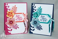 Stampin' Up! Botanical Bloom, builder, First Hand Emotion