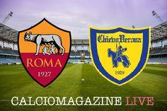 Roma-Chievo LIVE giovedi 22 dicembre ore 20.45