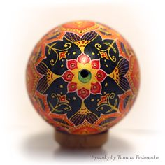 Buy pysanky real goose ukrainian painted egg shell.