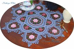 Looking for your next project? You're going to love Secret Garden Doily  by designer kathyawhi1078834.