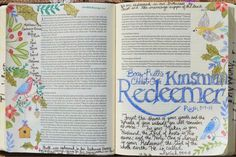 Ruth 3:9-13, Matthew 1:5-6, Isaiah 54:4-8, December 16, 2015, carol@belleauway.com, colored pencil, bible art journaling, bible journaling, illustrated faith, she reads truth advent