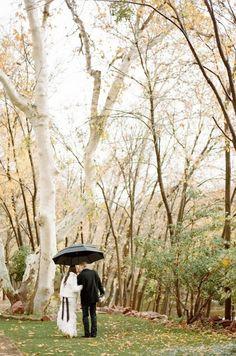 Art wedding umbrella