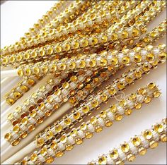 #Gold Rhinestone #Cakepop #Sticks