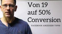 Von 19 auf 50% Conversion: Was aktuell gut mit Facebook Anzeigen funktio... Marketing, David, Facebook, Friends, Videos, Blog, Tips, Amigos, Boyfriends