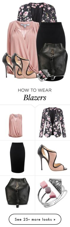 """Savvy"" by ljbminime on Polyvore featuring Jumpo, Alexander McQueen and Jimmy Choo"