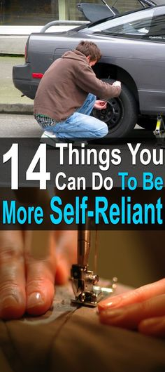 14 Things You Can Do To Be More Self-Reliant. No one expects you to learn everything about prepping or homesteading all at once. Instead, do a little at a time. #Homesteadsurvivalsite #Selfreliant