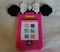 my 2 yr old grand daughter wanted a mouse phone, so I quickly made this!