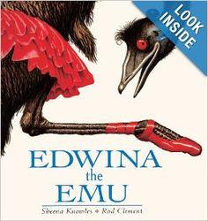 Edwina the Emu: Sheena Knowles: 9780613065603: Amazon.com: Books