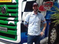 Após um teste em Londrina, Duda Bana fará sua estreia na categoria dos caminhões. (Foto: divulgação)