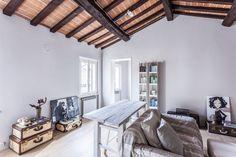 Katowice Apartment with Bright and Cozy Interior / Superpozycja Architekci Italian Style Home, Suitcase Decor, Interior Architecture, Interior Design, Attic Apartment, Unique Furniture, Wood Design, Interior Inspiration, Living Room Designs