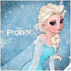 ELSA - FROZEN: The Snow Queen by DavidDimitriDolce on DeviantArt