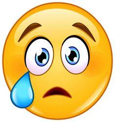 Tearful Emoticon
