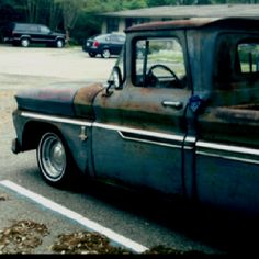 I want an old truck more than anything!