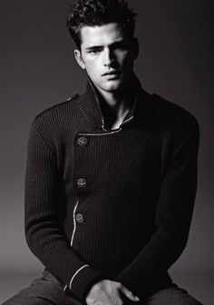 Armani Jeans and Sean O'pry, Texas Proposals for Fall/Winter 2012-2013
