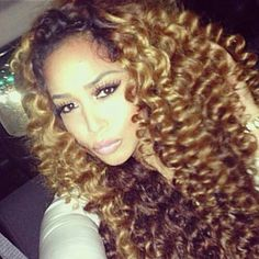 Honey Blond Curls