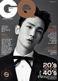 160913 #Key #SHInee - GQ Korea October 2016 Issue