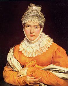 La emperatriz Josefina en 1808. Niza. Museo de Massena.
