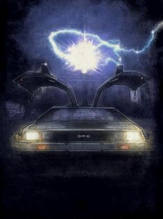 The Time Machine by Paul Shipper [Back to the Future Art]