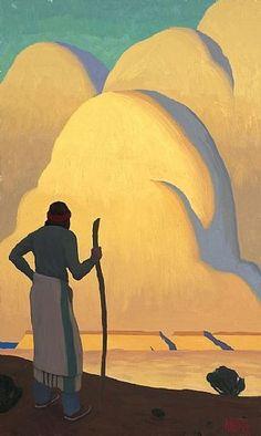 elpasha711:  Navajo Shepherd by Logan Maxwell Hagege