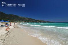 Golden Beach, #Thassos Island #Greece