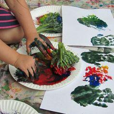 broccoli painting