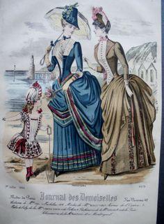 De Mode Journal Des Demoiselles 1886