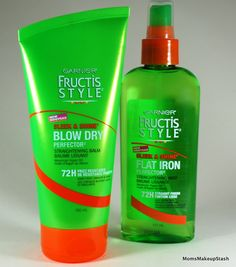 I personally have used the flat iron spray and it works wonders!!!!My hair is silky,soft and not frizzy like it used to be,its perfect for protecting your hair from split ends!!!! Love love love!!!
