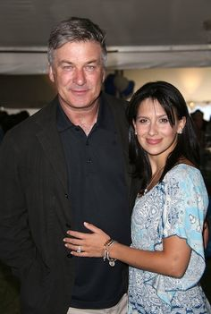 Alec Baldwin and wife Hilaria cuddle up at the East Hampton Library Authors Night